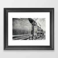 31806 Mogul Steam Locomo… Framed Art Print