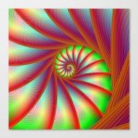 Staircase Spiral In Oran… Canvas Print
