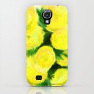 Yellow Flowers II Galaxy S4 Slim Case