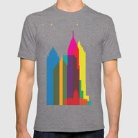 Shapes of Atlanta. Accurate to scale Mens Fitted Tee Tri-Grey SMALL