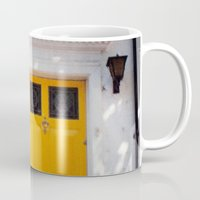The Perfect Yellow Door Mug