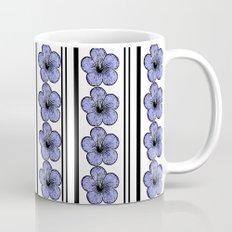 Flowers and stripes Mug