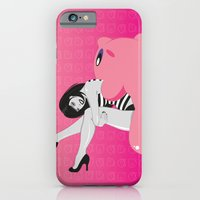 iPhone & iPod Case featuring Geekette sur Kirby by Lily's Factory