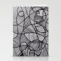 Black & White Abstract Stationery Cards