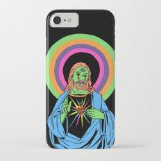 Blacklight Jesus iPhone 7 Slim Case