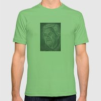 much love grandma! Mens Fitted Tee Grass SMALL