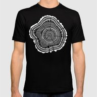 Growth Rings – 65 Year… Mens Fitted Tee Black SMALL