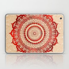 omulyána red gallery mandala Laptop & iPad Skin