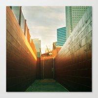 Doorway To Dallas Canvas Print
