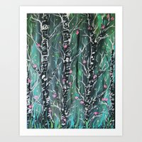 faerie dust Art Print