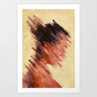 woman Art Prints featuring Woman by SensualPatterns