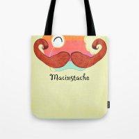 The Macinstache Tote Bag