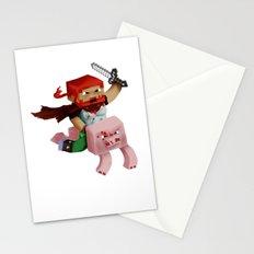 Minecraft Avatar H00j0 Stationery Cards
