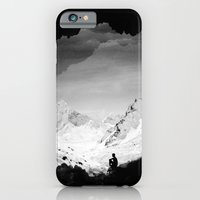 iPhone Cases featuring Snowy Isolation by Stoian Hitrov - Sto