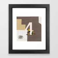 Boots - April Framed Art Print