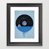 Songs for the Sea Framed Art Print