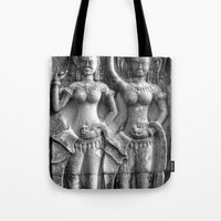 Cambodian Erotic Goddess… Tote Bag