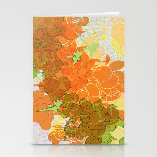 vegetal growth Stationery Card