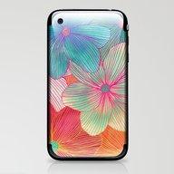 Between The Lines - Trop… iPhone & iPod Skin