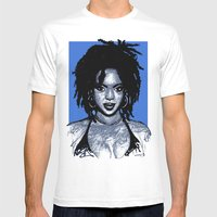 Lauryn Hill Mens Fitted Tee White SMALL