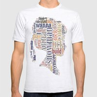 Anna Mens Fitted Tee Ash Grey SMALL