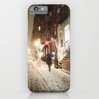 New York City - Snow - Lower East Side iPhone 6 Slim Case