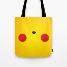 Yellow Face Tote Bag