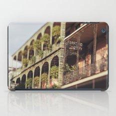 New Orleans Royal Street Balconies iPad Case