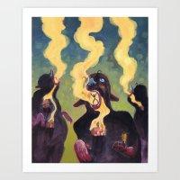 The Estranged Community Art Print