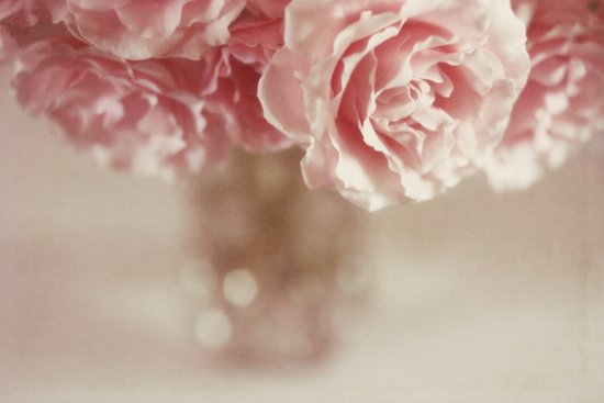 I believe in pink Art Print