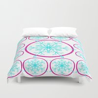 Dream-catching a Snowflake Duvet Cover