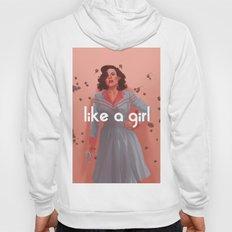 like a girl Hoody