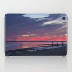 Magic Summer Sunset on the West Coast of DENMARK iPad Case