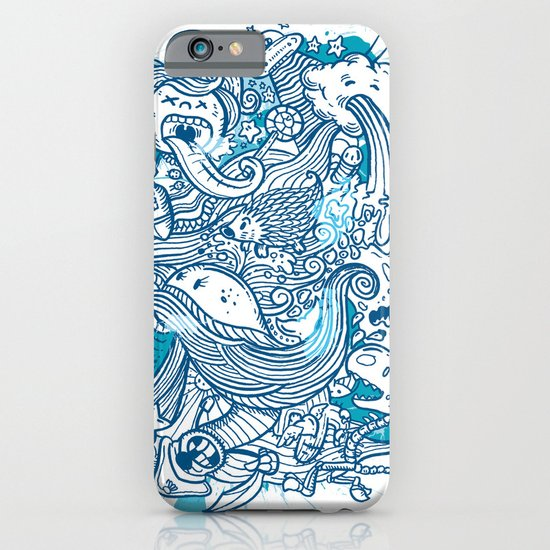 Random Doodle iPhone & iPod Case