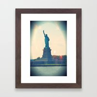 State of Liberty Framed Art Print