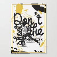 Just Don't - II Canvas Print