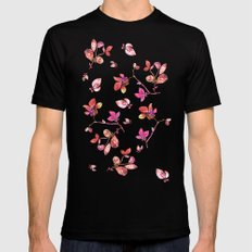 BLOOM Mens Fitted Tee SMALL Black