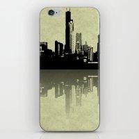 Skyline Reflections iPhone & iPod Skin