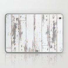 White Wood Laptop & iPad Skin