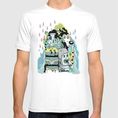 Magic Friends Mens Fitted Tee SMALL White