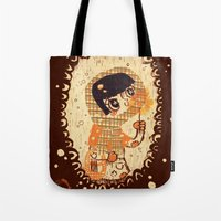 The Little Match Girl Tote Bag