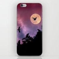 Crow meeting iPhone & iPod Skin