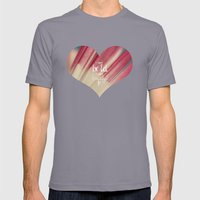 Bold And Beautiful Mens Fitted Tee Slate SMALL