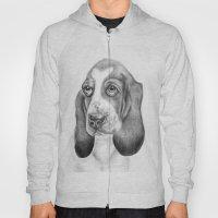 Basset Hound (dog Print) Hoody