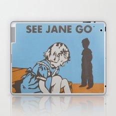 See Jane Go Laptop & iPad Skin