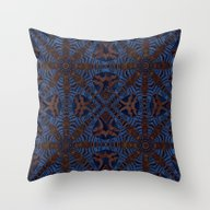 Moroccan Zebra Throw Pillow