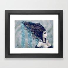 Zodiac Sign: Aquarius Framed Art Print