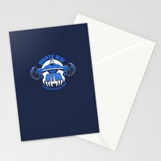 Mighty Blue Gym Stationery Cards