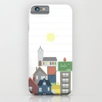 iPhone & iPod Case featuring House Stack by Becky Gibson