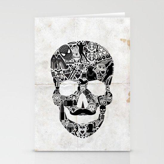 My Skull Stationery Card